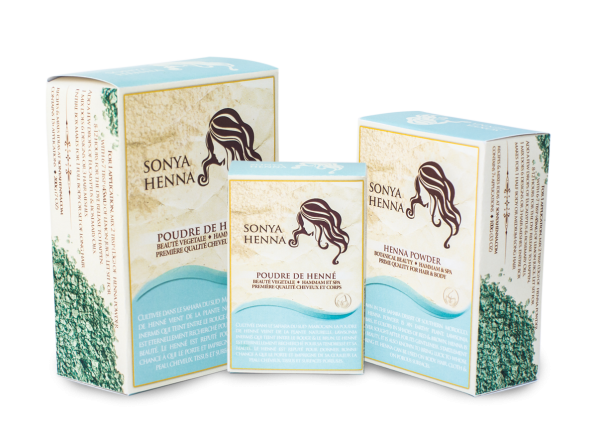 Sonya Henna pour Cheveux et Corps